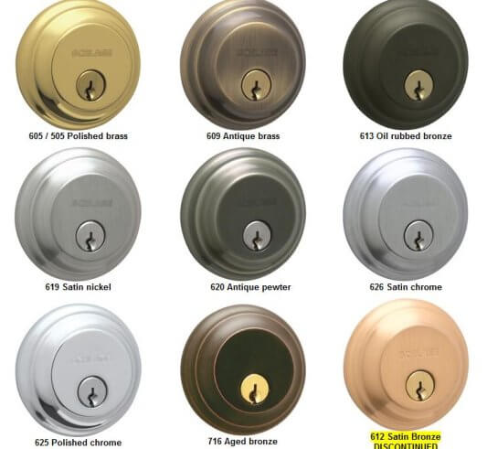 Schlage - Common Door Hardware Finishes