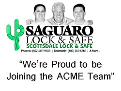 Saguaro Lock and Safe Has Merged with ACME Locksmith