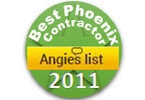 Angie's List Best Phoenix Contractor