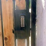 Side Gate Lock Installation