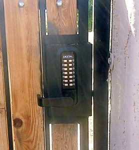 How To Lock Outdoor Gates Gate Lock Options