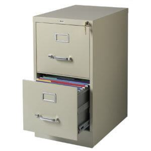 How to Lock a File Cabinet
