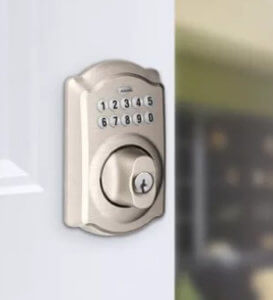 Help! My Schlage Electronic Lock Unlocks by Pushing the Schlage Button