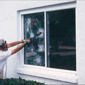 Security Window Film Prevents Window Breakage