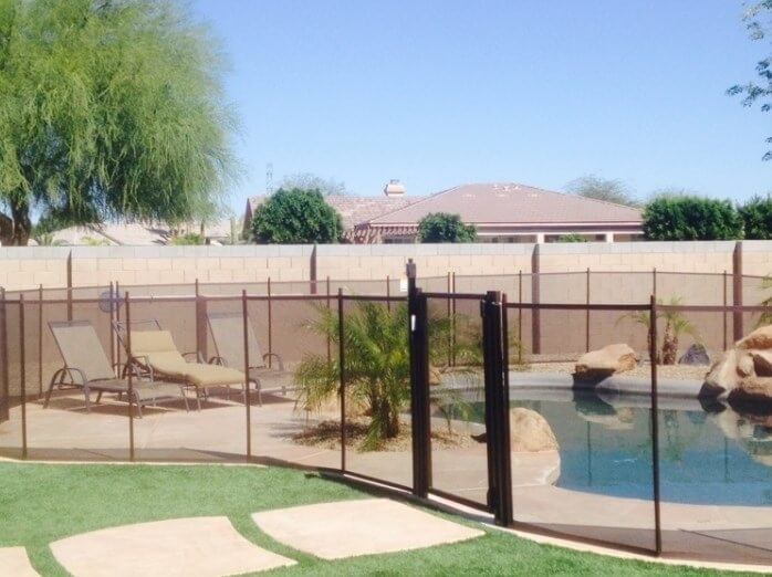 Free Standing Pool Fence