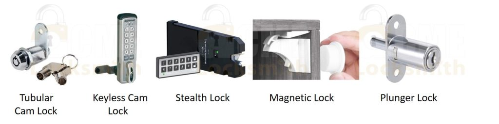 Types of Cabinet Door Locks
