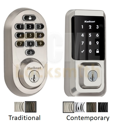 Kwikset Halo Reset Works on All Styles of the Halo Lock