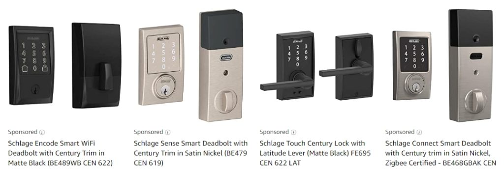 schlage smart lock options